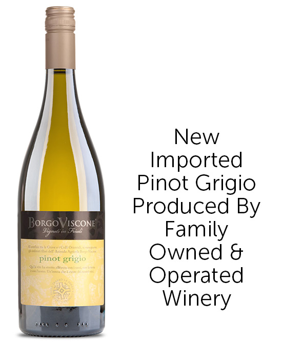Borgo Viscone Italian Pinot Grigio 2019