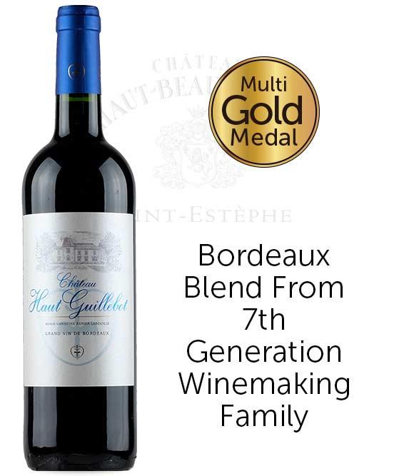 Chateau Haut Guillebot Bordeaux Rouge 2015
