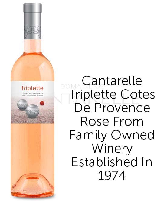 Cantarelle Triplette Cotes De Provence Rose 2018