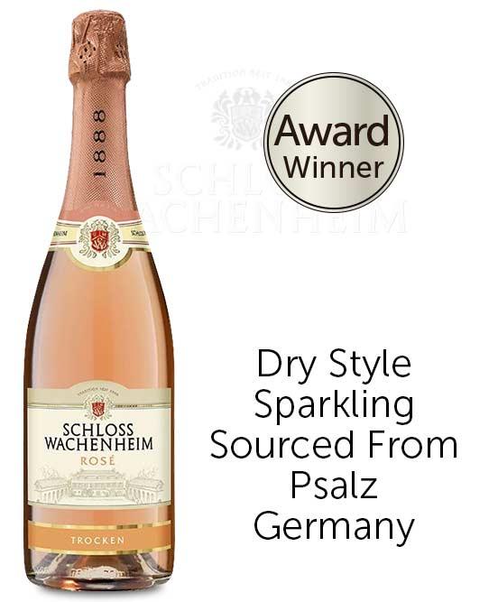 Schloss Wachenheim Sparkling Rose Trocken Nv