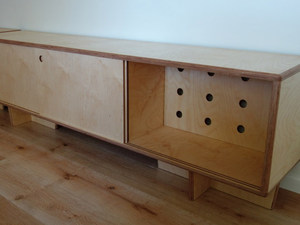 Mark's Plywood Cabinets by Nathaniel Grey - Cabinets, Entertainment Unit, Storage, Plywood, Birch