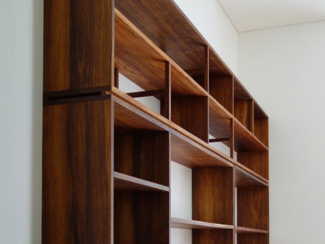 Joanne's Bookcase by Nathaniel Grey - Book Shelves, Bookcase, Blackwood