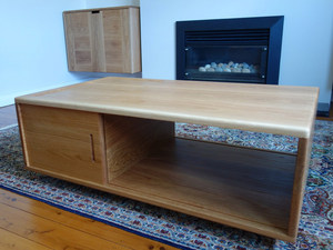 Chris's Cabinets & Table by Nathaniel Grey - Coffee Table, Cabinets, Storage, American Oak