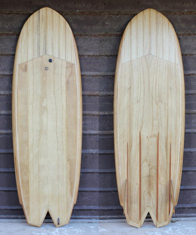 Mini Simmons Surfboard by Nathaniel Grey - Surfboard