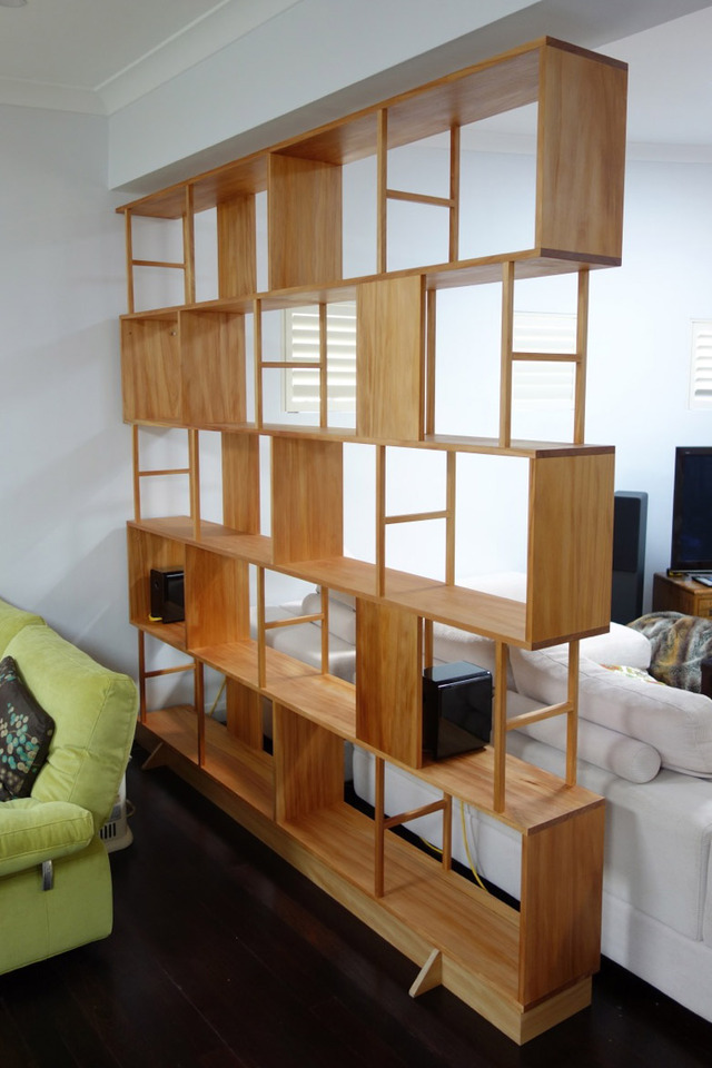 Mark's Bookcase by Nathaniel Grey - Book Shelves, Bookcase, Kauri Pine