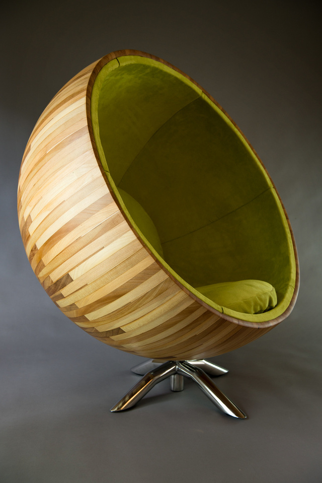 The Pod by Ben Percy - Chair, Queensland Kauri