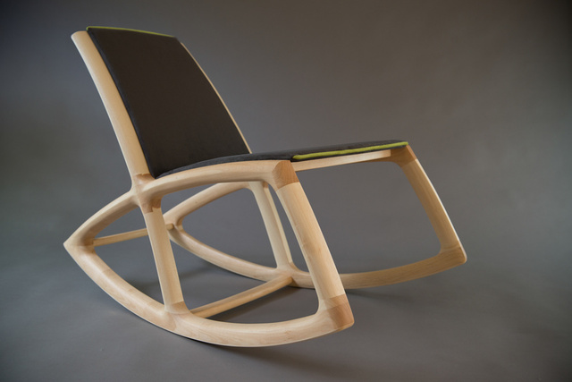The Rocker by Ben Percy - Rocking Chair, Chair, Queensland Silver Ash