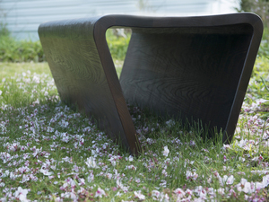Ash Bench by Ben Percy - Bench, American Ash, Outdoor Furniture