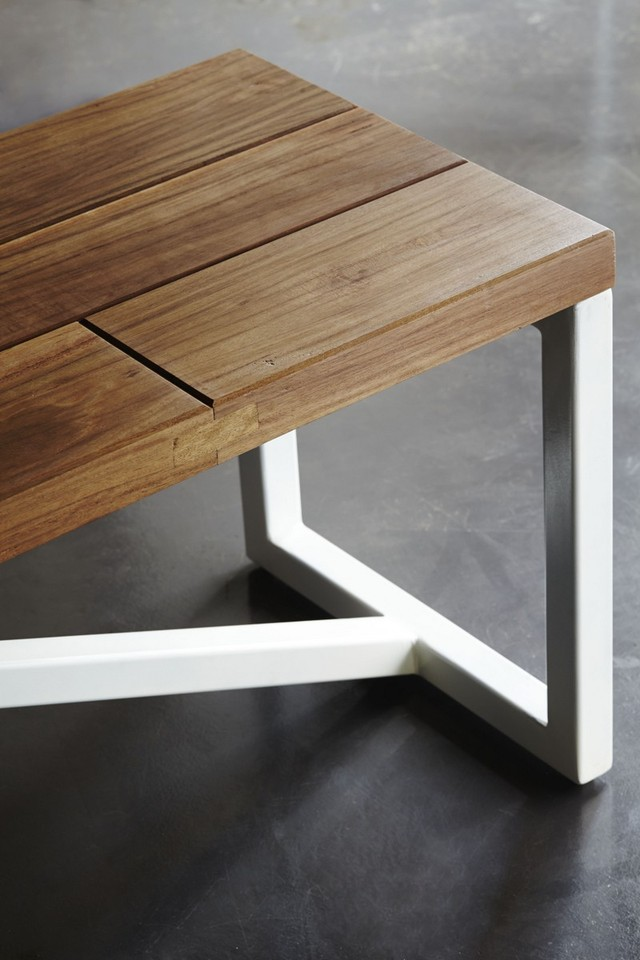 Ironbark Side Table by Sankhara Co - Ironbark, Hardwood, Steel, Coffee Table, Side Table, Reclaimed, Recycled