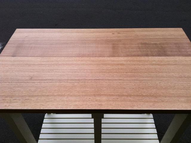 High Bench Table by Josh Pinkus - High Table, Cafe Table, Bench, Tasmanian Oak