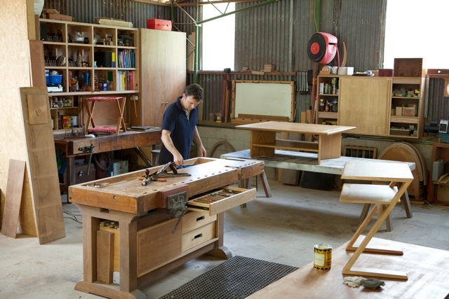 Lovely Nick Bailey, Bespoke Furniture Maker From Sunshine Coast, QLD