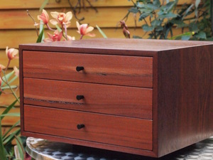 Jewellery Box by Eco wood design - Jewellery Box, Jarrah, Recycled Timber