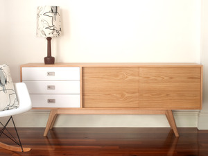 C180 SIDEBOARD by Senkki Furniture - Sideboard, Entertainment Unit, Custom Made, Bespoke, Media Unit, Retro, Modern, Mid-Century, Cabinet, Storage