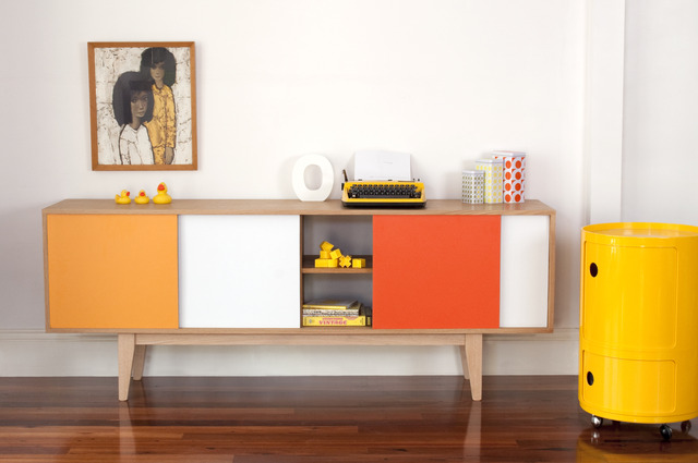 S180 SIDEBOARD by Senkki Furniture - Sideboard, Entertainment Unit, Mid Century, Media Unit, Cabinet, Storage, Retro, Modern, Contemporary, Furniture