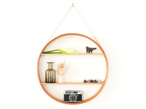 CIRCULAR SHADOW BOX - ROUND SHELF by Senkki Furniture - Round Shelf, Round Shadow Box, Shelf, Shelves, Shadow Box, Display Unit, Display Cabinet, Circular Shelf, Circular Shadow Box, Modern