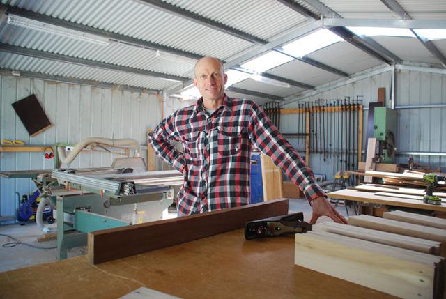 Martin Davis, Bespoke Woodworker from Waratah Bay, VIC