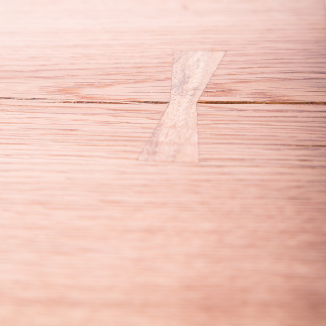 Delilah by Maeker Studio - Oak, Table, Brass, Scandinavian, Timber Slab, Natural Edge, Danish Oil