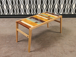 Panhandle Slim Coffee Table by A Good Looking Man  - Coffee Table, Reclaimed, Mixed