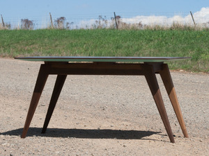 Sled Coffee Table by Curious  Tales - Coffee Table, Walnut, Solid Timber