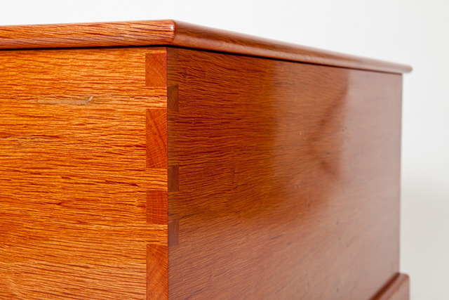 Sheoak blanket chest by Peter Walker - Blanket Chest, Toy Box, Glory Box, Sheoak Furniture