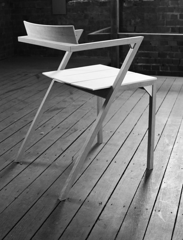 Chair by Alex Fossilo - Chair, Timber