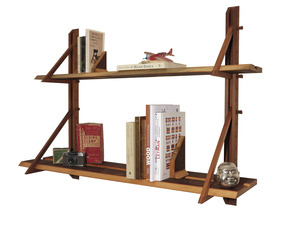 Adjustable timber shelves by Alex Fossilo - Recycled, Timber, Shelves