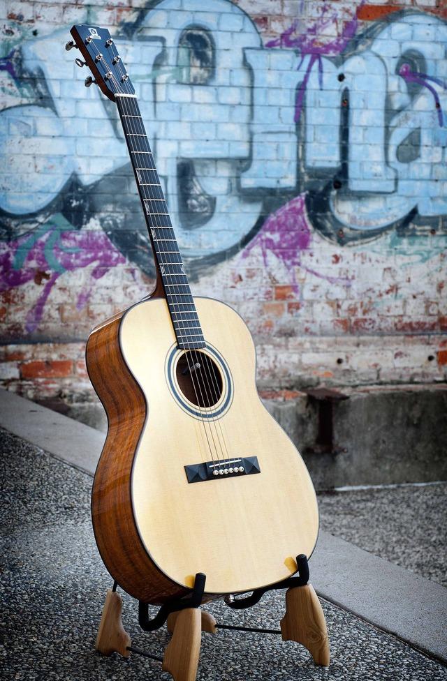 Luke Kallquist, Bespoke Musical Instrument Maker from Indooroopilly, QLD