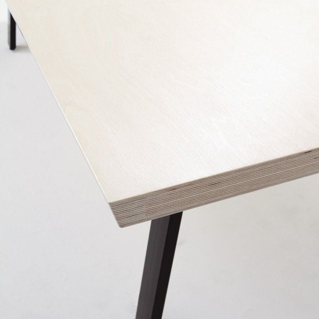 Table MK2 by Like Butter - Table, Desk, Ply, Angular, Office