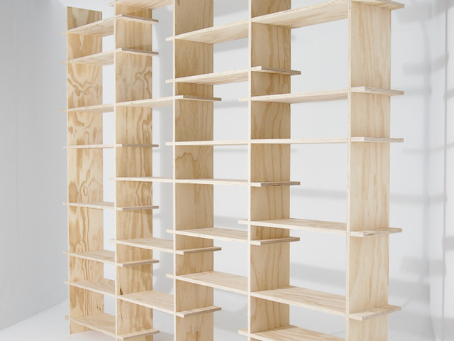 The Shelves by Like Butter - Shelves, Shelf, Bookshelves, Shelving, Books, Ply, Flatpack