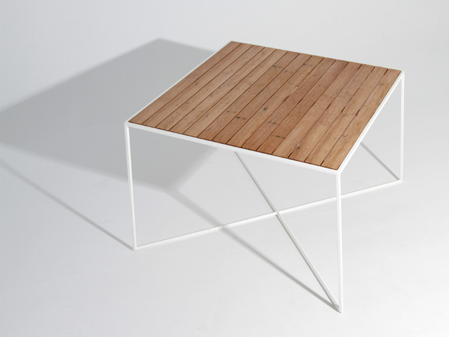 Table MK1 by Like Butter - Coffee Table, Side Table, Table, Delicate, Steel, Ply