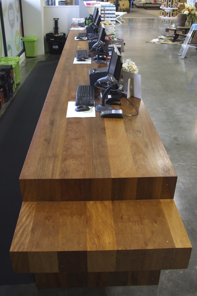 Service counter by Sam  James  - Counter, SJD Furniture