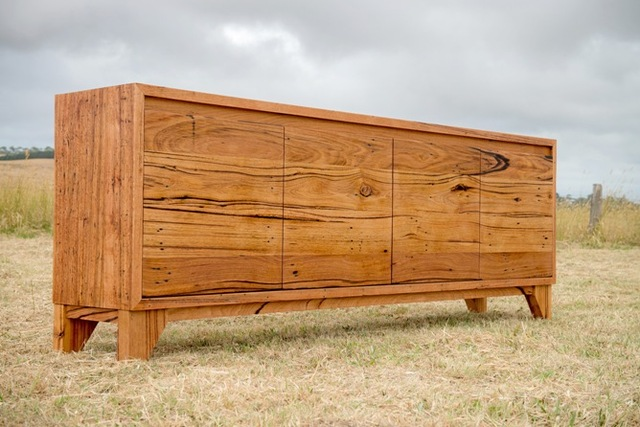 Wye River Recycled Timber Buffet by Bombora Custom Furniture - Messmate, Buffet, Recycled Timber, Bespoke Sideboard, Timber Buffet Melbourne, Timber Buffet Geelong, Timber Buffet Torquay, Recycled Timber Buffet, Recycled Messmate Buffet