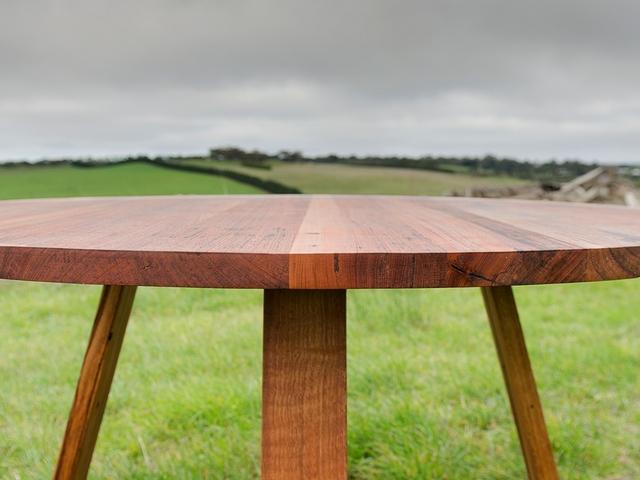 Bird Rock Round Dining Table by Bombora Custom FurnitureHandkrafted
