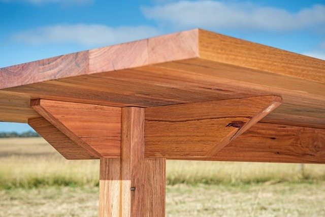 Rincon Refectory Dining Table by Bombora Custom Furniture - Messmate, Refectory Table, Recycled Timber, Custom Dining Table, Dining Table Melbourne, Dining Table Geelong, Dining Table Torquay, Recycled Timber Table