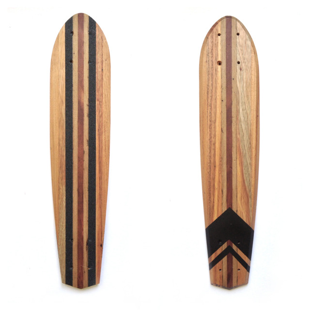 skateboards by Helen Proctor - Skateboard, Retro