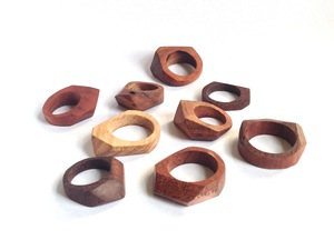 Rings by Helen Proctor - Ring, Jewellery, Timber