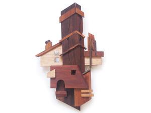Stoop Sculptures by Helen Proctor - Sculpture, Stoop, Houses, Art
