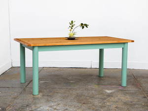 The 'Turner' Table by GLENCROSS FURNITURE - Table, Dining Table, Kitchen Table, Custom Made, Made To Order, Recycled Timber, Traditional, Contemporary, Solid Timber, Melbourne