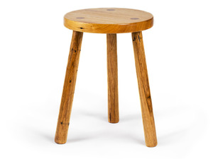 The Tavern Side Table/Stool by GLENCROSS FURNITURE - Custom Made, Recycled Timber, Side Table, Stool, Seating, Traditional, Contemporary, Melbourne, Dining Table, Table