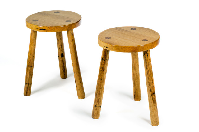 The 'Tavern' Side Table/Stool by GLENCROSS FURNITURE - Custom Made, Recycled Timber, Solid Timber, Side Table, Stool, Seating, Traditional, Contemporary, Rustic, Melbourne