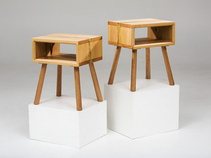 The Walker Side Table by GLENCROSS FURNITURE - Console Table, Side Table, Bedside Table, Custom Made, Recycled Timber, Contemporary, Melbourne, Table, Hall Table, Unique Design