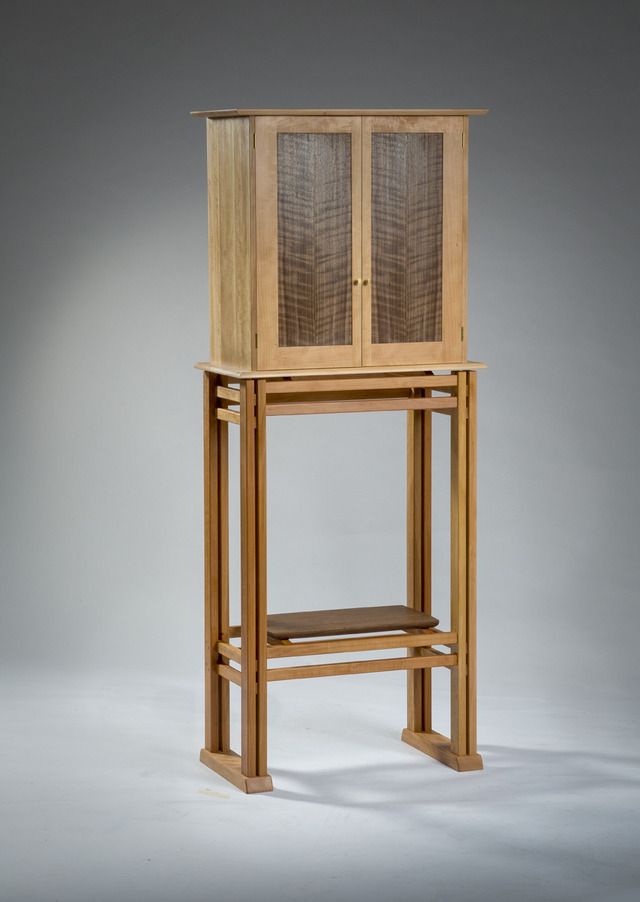 Swiss Pear Cabinet by Damion Fauser - Cabinet
