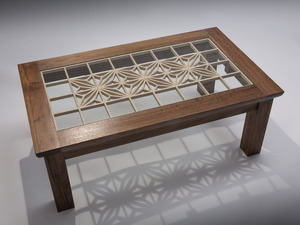 Asanoha Table by Damion Fauser - Table, Coffee Table, Occasional Table
