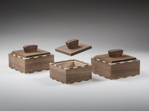Pagoda boxes by Damion Fauser - Box, Jewellery Box, Keepsakes Box