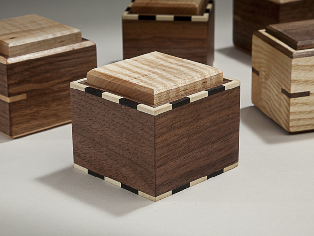 Micro boxes by Damion Fauser - Box, Jewellery Box