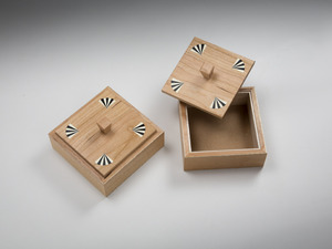 Various boxes by Damion Fauser - Box, Jewellery Box