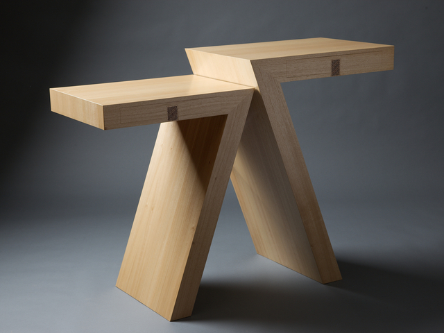 SEPT Table by Anthony (Neil) Erasmus - Tables, Hall Table, Wall Table, Entrance Table, Occasional Table, Sculptural Table, Seven
