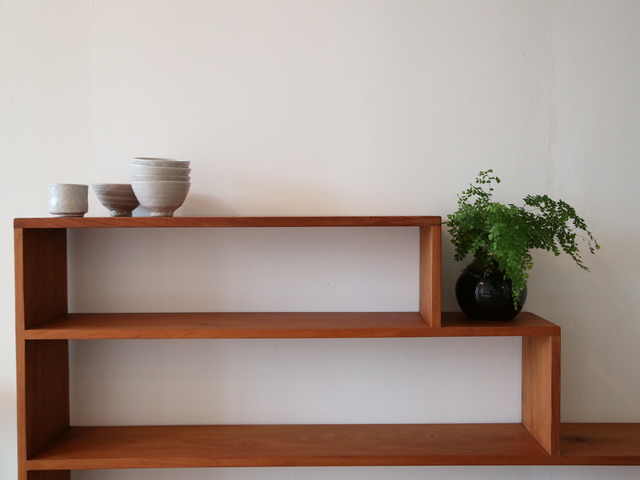 Step Bookshelf by James Talty - Step Shelves, Wooden Shelves