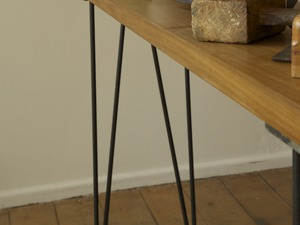Hairpin Table by James Talty - Hairpin Table, Hall Table