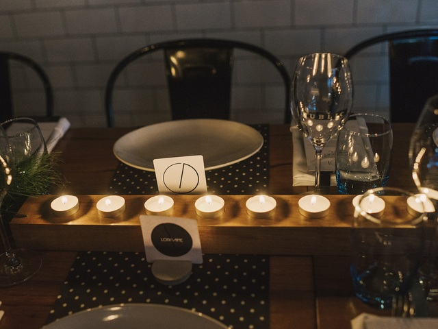 Modern, minimalist candle holders by Dominic van Riet - Tasmanian Blackwood, Tea Light Candles, Handcrafted